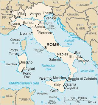 Goobix Fotbal Italia Hartă